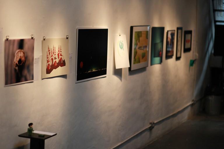 Art gallery in Pilsen