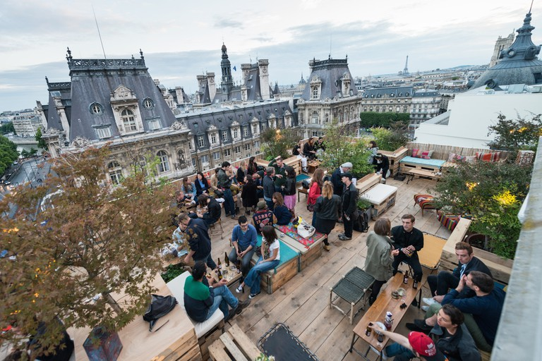 Enjoy unrivalled views of Paris at Le Perchoir