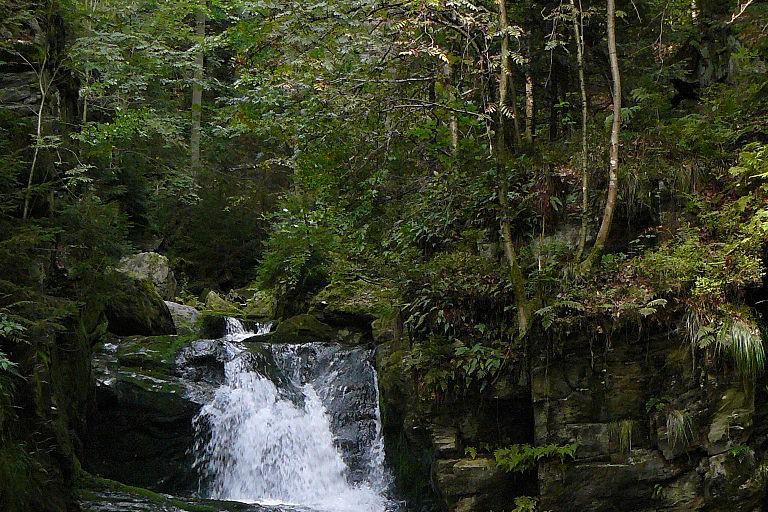 Rešov Waterfalls, Czech Republic