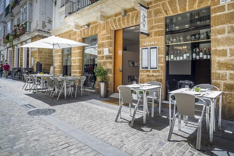 Restaurante Sopranis Cádiz