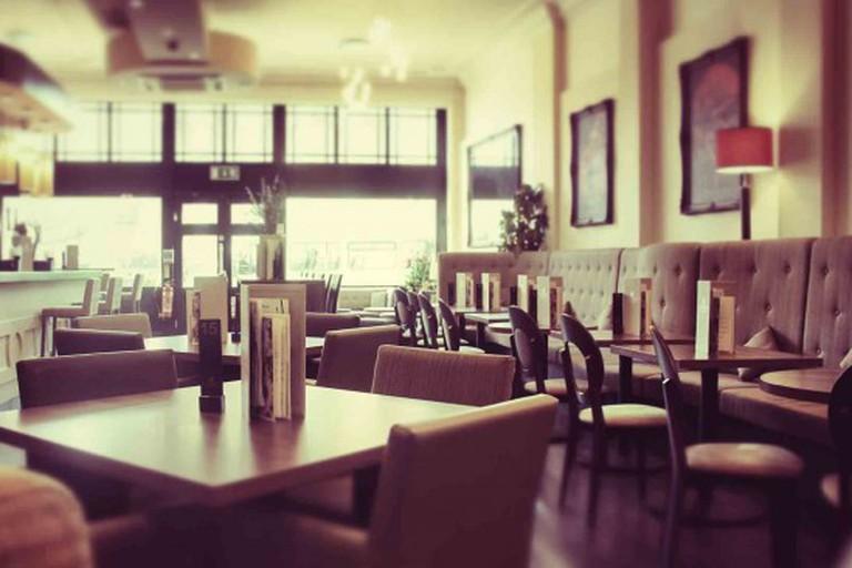 Inside Bolero Bar & Kitchen