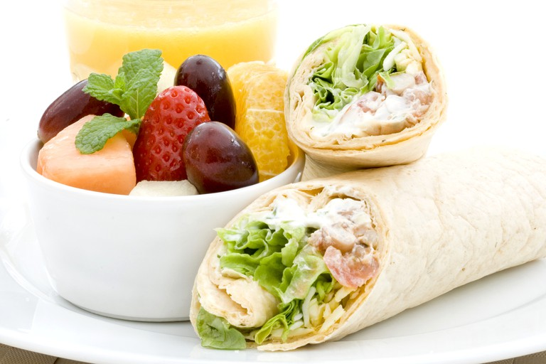 Fruit and wraps