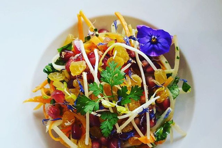 A salad from Gentle Gourmet