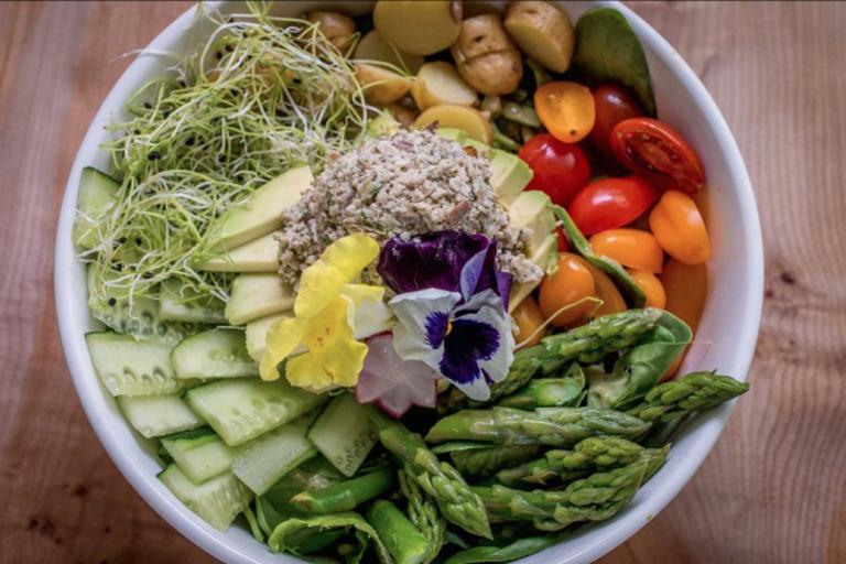 'Tuna Salad' at Nourish Cafe