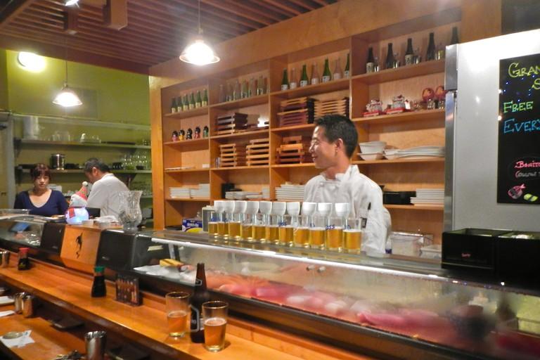 Bar at Jodoku Sushi