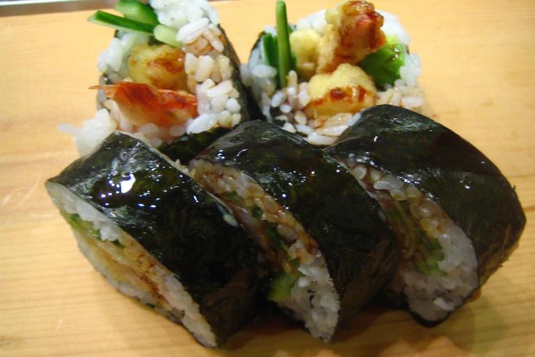 Shrimp Tempura Roll at Musashi Japanese Restaurant