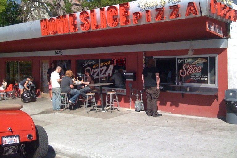 Home Slice Pizza, Austin