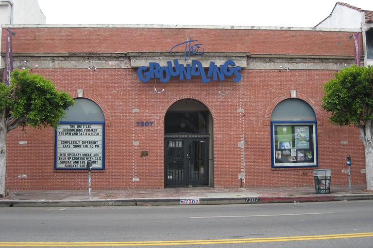 Groundlings comedy club on Melrose Avenue in Hollywood, California