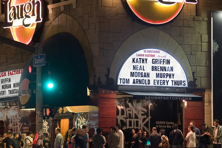 The Laugh Factory on the Sunset Strip
