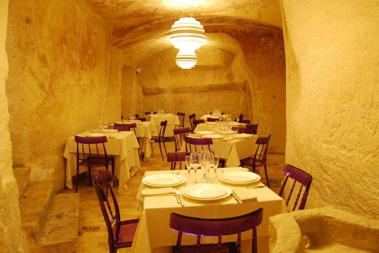 Inside Ristorante Francesca