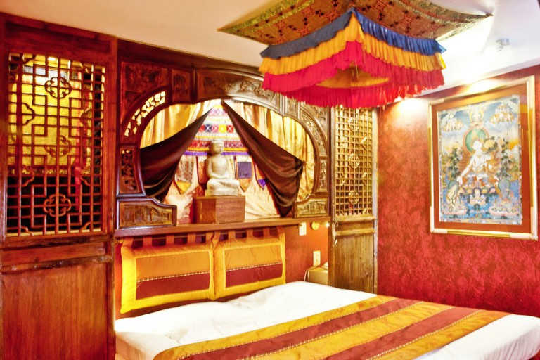 Tibet room at Hotel Welcome
