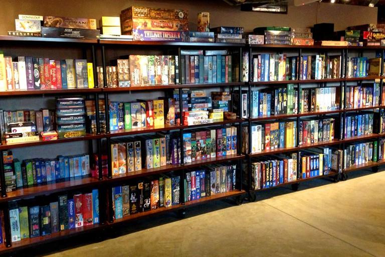 Shelfs of Games