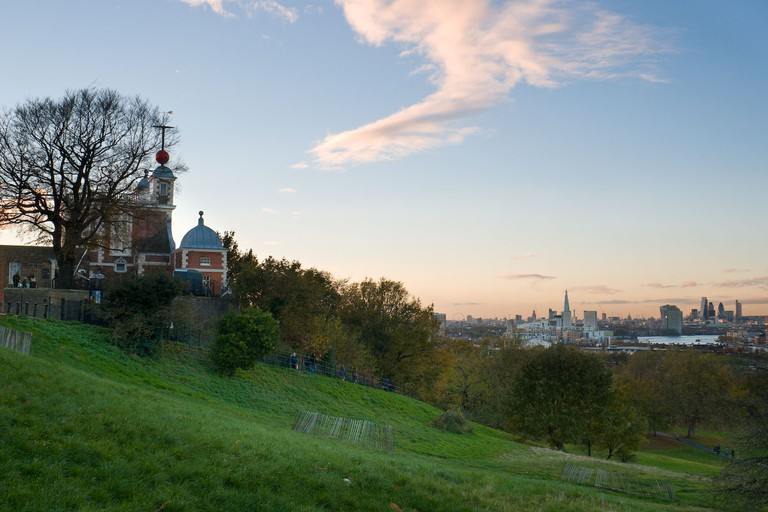 View from Giant Steps, Greenwich Park