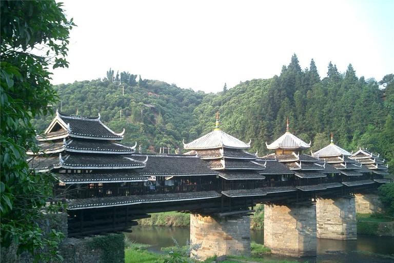 Chengyang Wind and Rain Bridge   Courtesy China Highlights