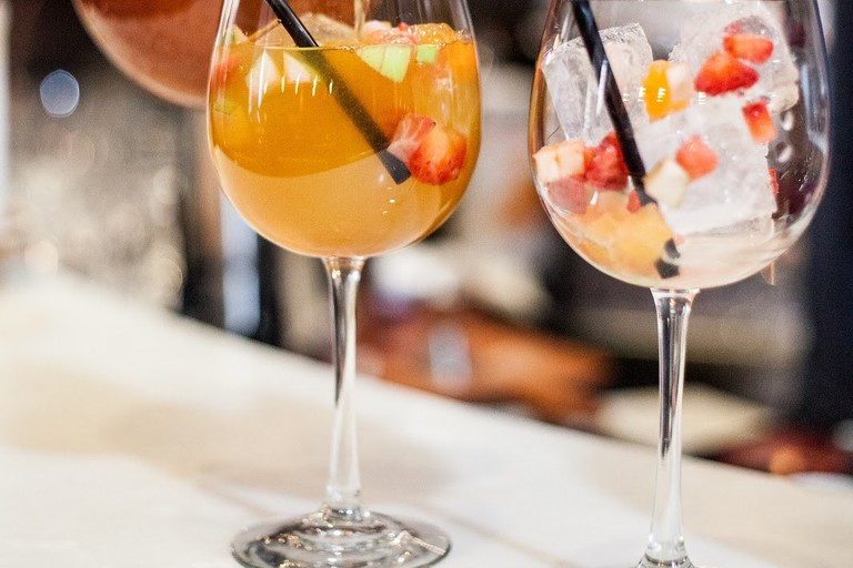 The perfect summer sangria at Patria
