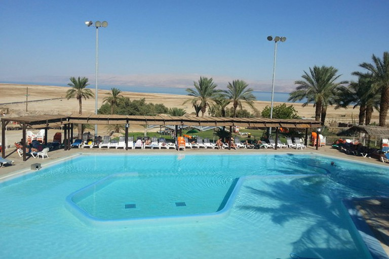 The Dead Sea hot springs