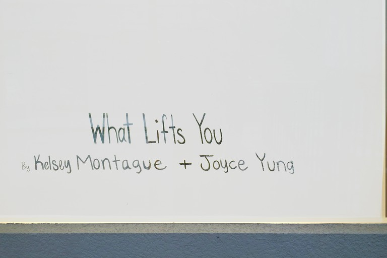 What Lifts You, collaborative exhibition by Kelsey Montague and Joyce Yung at Art Supermarket