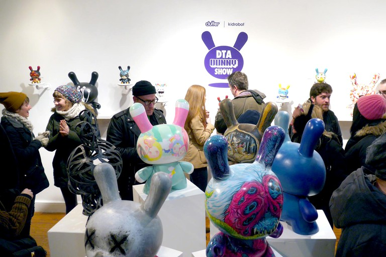 The DTA Dunny Show at Clutter Gallery