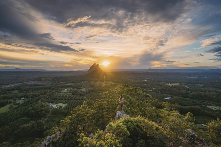 Glass House Mountains, Mary Cairncross Lookout, QLD | Courtesy of Tourism and Events Queensland / Jason Charles Hill Photography