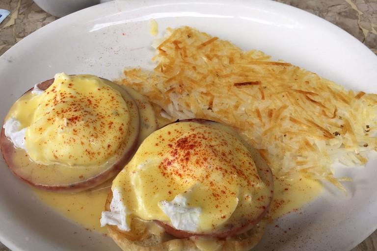Eggs Benedict at Jack's