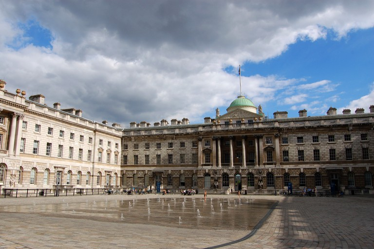 The Central Courtyard at Somerset House
