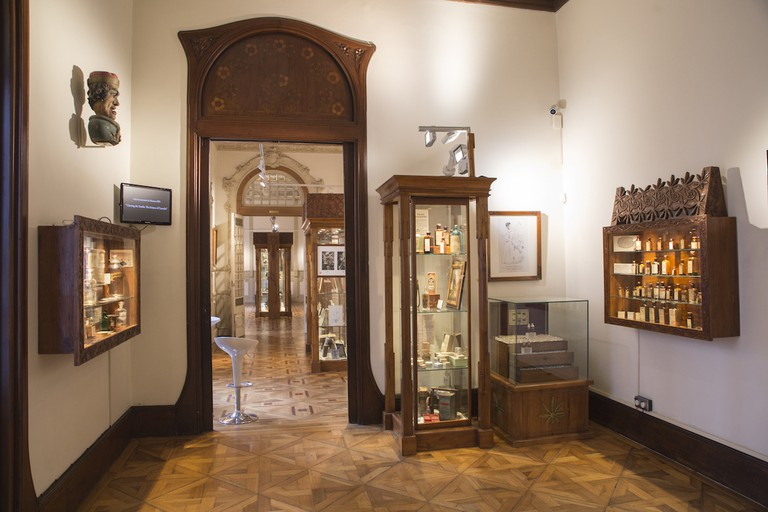 The museum contains hundreds of items relating to both the production and consumption of the plants