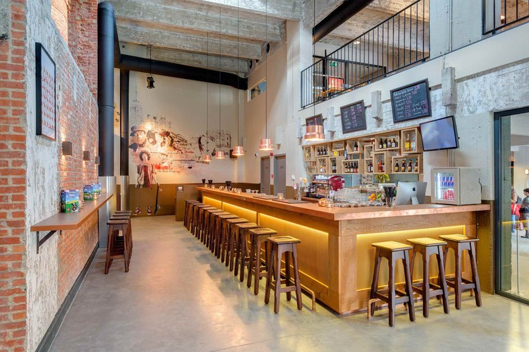 Twenty European artists have had a hand in making the Meininger look as urban and creative as it does | Courtesy of Meininger Hotel Brussels City Center