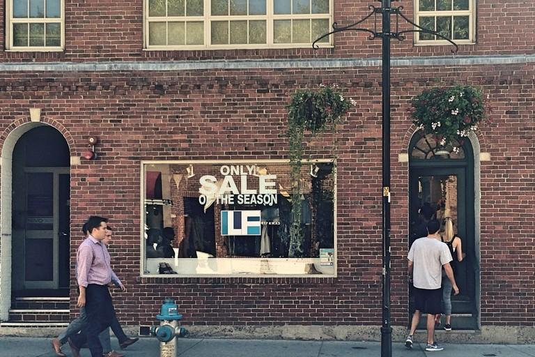 LF in Harvard Square