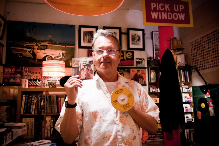 Owner of Rooky Ricardo's Records