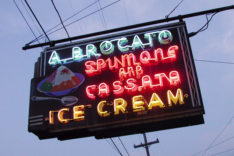 Locally Famous Angelo Brocato Ice Cream