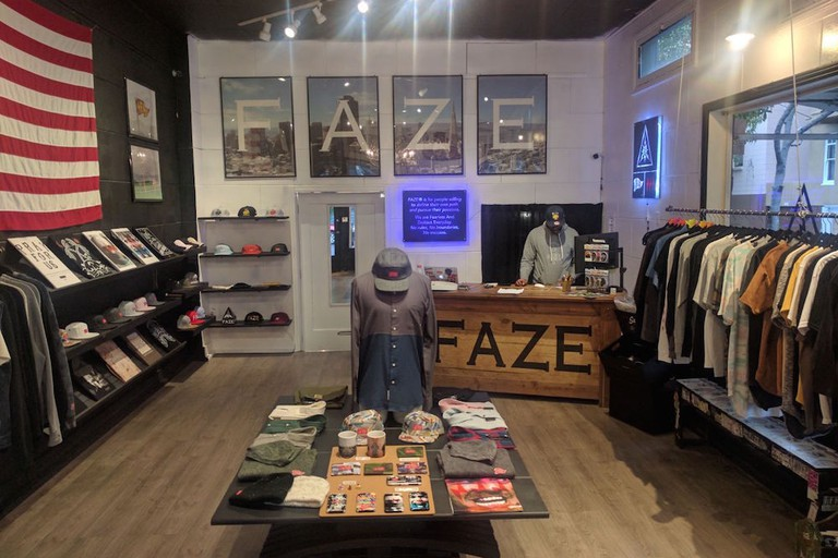 FAZE Apparel, which stands for Fearless And Zealous Everyday, is a brand geared toward 'people that are willing to define their own path and pursue their passions