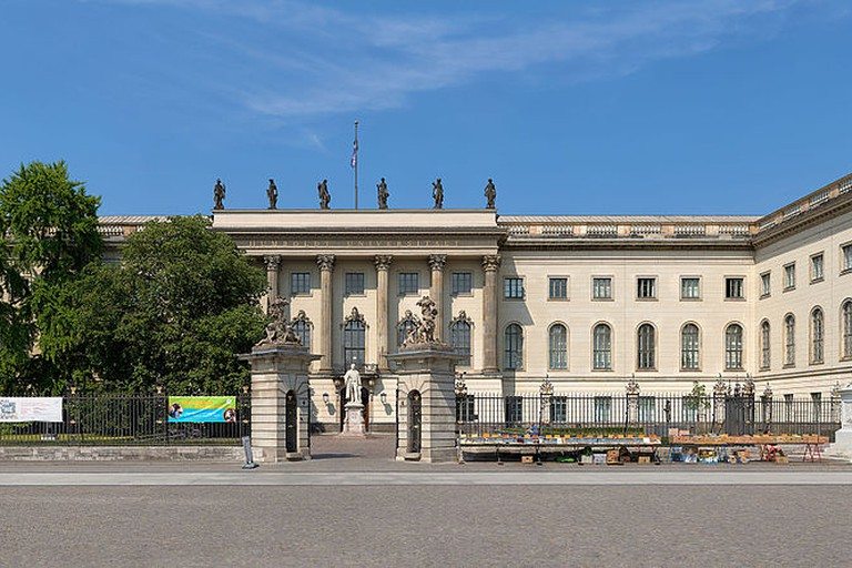 Humboldt University of Berlin, Unter den Linden