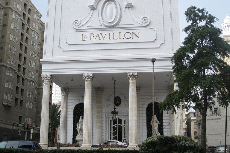 Le Pavillon Hotel in downtown New Orleans