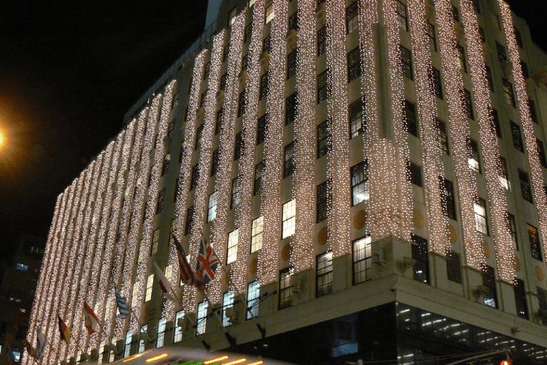 Holiday Lights At Bloomingdales