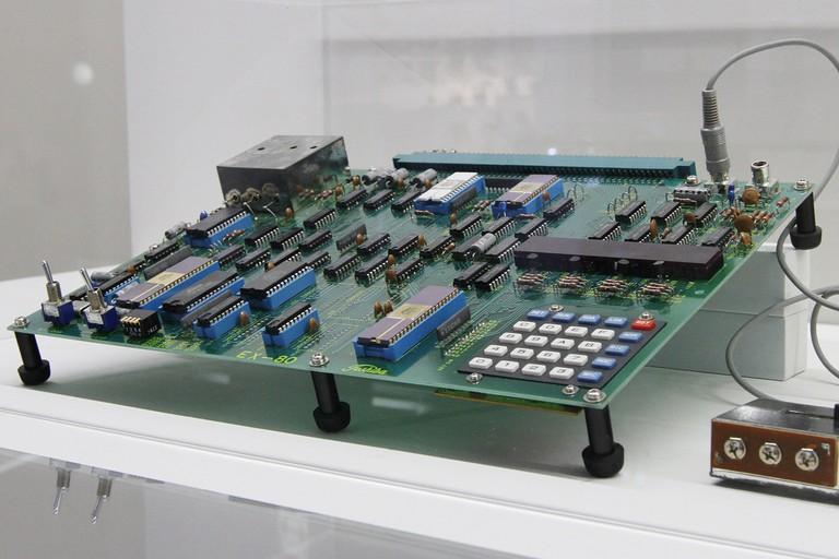 Historic Toshiba EX-80 at the Toshiba Science Museum