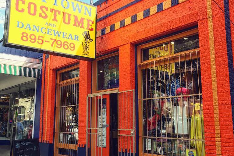Uptown Costume & Dancewear storefront