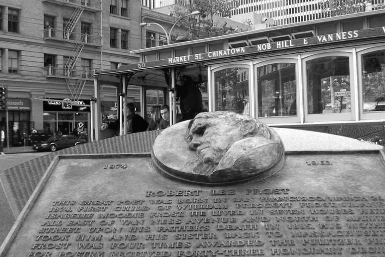 Robert Frost Plaza © Mydhili Bayyapunedi/Flickr