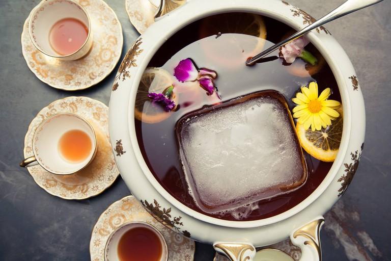 Moroccan Tea Service at Byblos