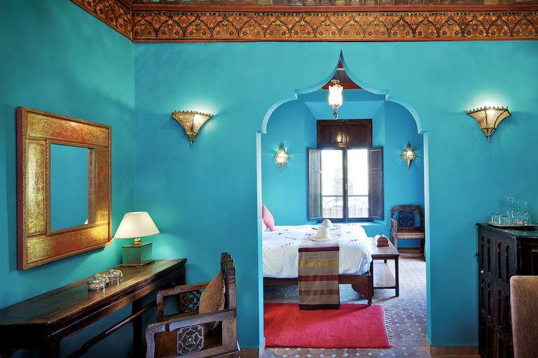 Deluxe Room at Kasbah Tamadot