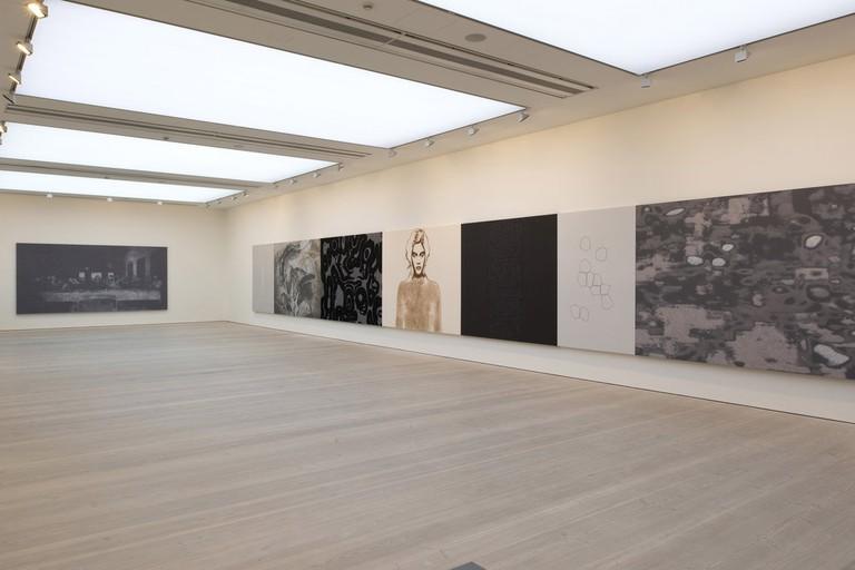 Henri Barande at Saatchi Gallery, London
