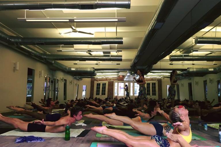 Yoga at Bikram Yoga New Orleans