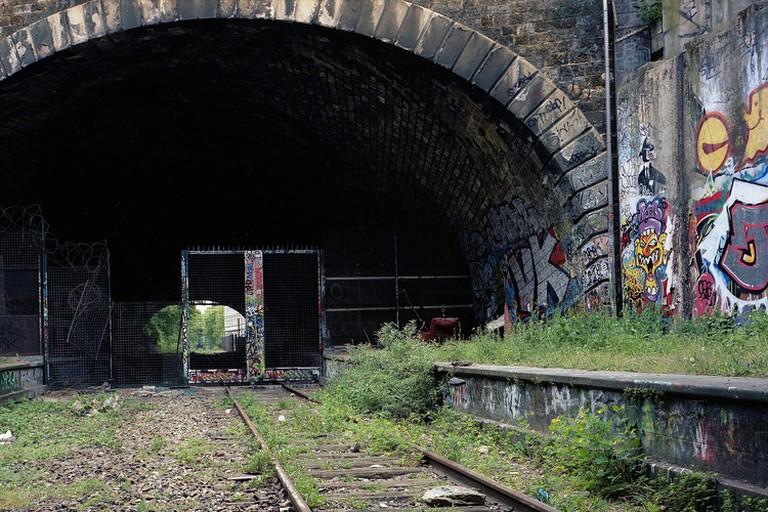 A tunnel along La Petite Ceinture │© Thomas Claveirole