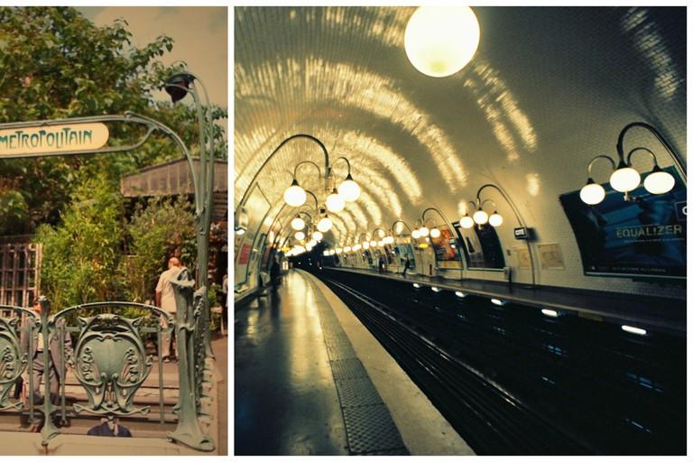 Cité metro station  │