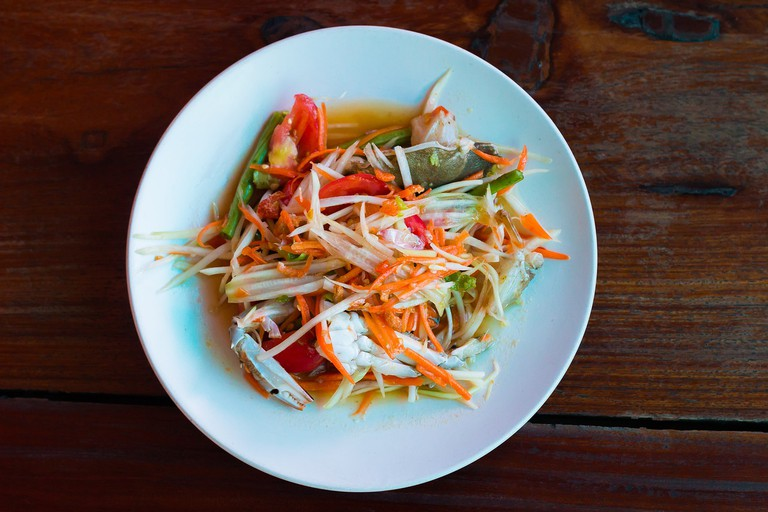 Papaya salad │© xegxef