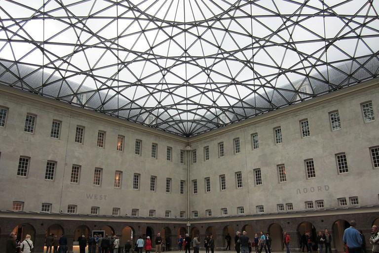 Het Scheepvaartmuseum' s inner courtyard