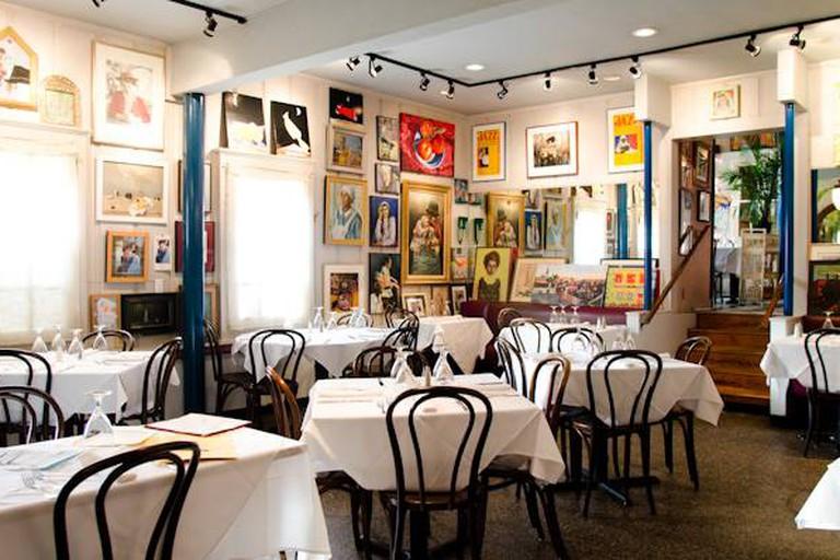 Upperline Restaurant dining room