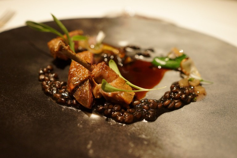 Dish at Quince