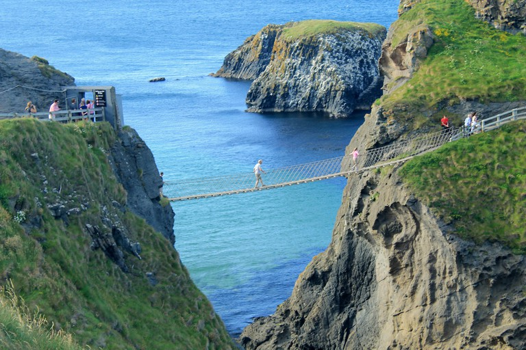 Carrick-A-Rede Rope Bridge | © portengaround/Flickr