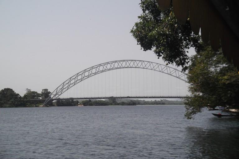 The Adomi Bridge