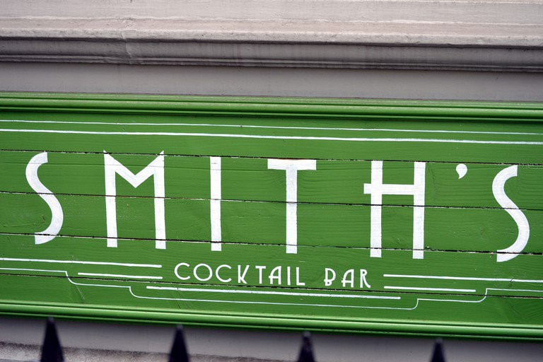 Smith's cocktail bar